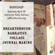 Breakthrough: Narrative Collage Journal Making