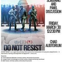 Film Screening and Panel Discussion