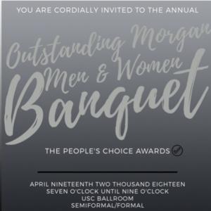 Outstanding Morgan Men and Women Banquet
