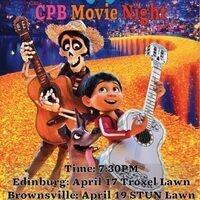 CPB Movie Night: Coco (Edinburg)