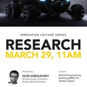 Innovation Lecture Series on Research