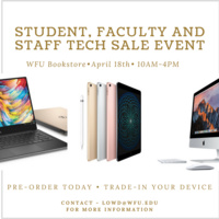 Student, Faculty and Staff Tech Sale Event