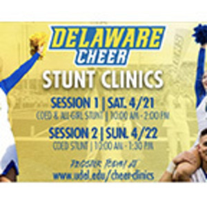 University of Delaware Cheerleading Clinic