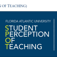 SPOT (Student Perception of Teaching)-Spring 2018 Semester