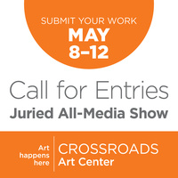 Crossroads Art Center May 2018 Call for Entries!