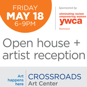 Crossroads Art Center May 2018 Open House and Artist Reception!