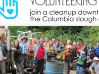Volunteer for the Columbia Slough Watershed