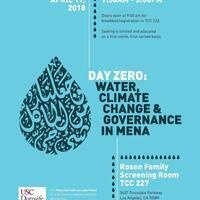 Day Zero: Water, Climate Change, and Governance in MENA
