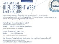 4th Annual UI Fulbright Week