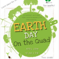 URI Earth Day on the Quad