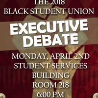 Black Student Union Executive Debate