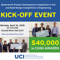 Beall Student Design and Butterworth Product Development Competition Kick Off