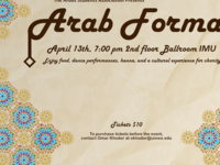 Spring 2018 Arab Formal and Charity Event