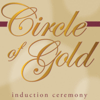 Circle of Gold Spring Induction Ceremony