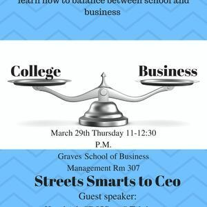 Streets Smarts to CEO