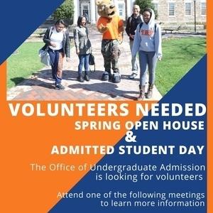 Undergraduate Admissions Volunteer Meeting