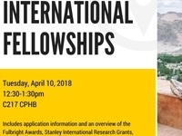 International Fellowships Information Session
