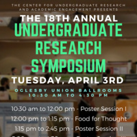 18th Annual Undergraduate Research Symposium