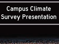 Take Back the Night: Campus Climate Presentation