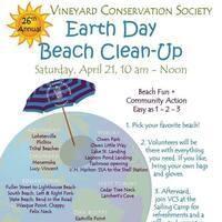 VCS Earth Day Beach Clean-Up