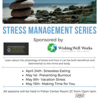 Stress Management Series: Stressless Eating