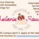 Melanie Rowe Catering On Campus Recruiting
