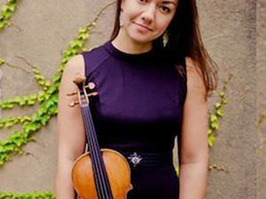 Ariana Kim, violin, with Ieva Jokubaviciute, piano: CU Music