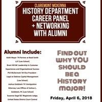 History Alumni Panel & Networking Lunch