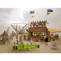 Burning Inquiry: Evolution of a Burning Man Village - A Father and Daughter's Adventure
