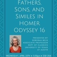 Fathers, Sons, and Similes in Homer Odyssey 16