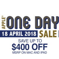 Apple One Day Sale