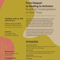 From Despair to Healing to Activism: Buddhist Contemplation in Hard Times