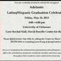 Adelante: Latino/Hispanic Graduation Celebration