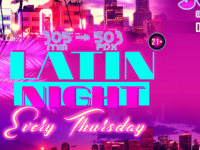 Latin Thursdays at Jones: 305 to 503