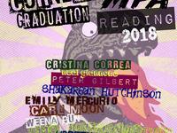 MFA in Creative Writing Graduation Reading