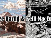 Renée Hartig & Kelli MacConnell Opening Reception