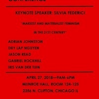 Marxism and New Materialisms Conference: Keynote speaker - Silvia Federci  - Hofstra University