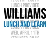 AIChE Williams Lunch and Learn