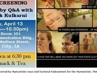 South Asian Studies Program Film Screening