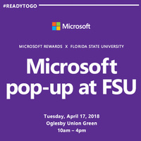 Microsoft Pop-Up at FSU