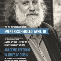CARY NELSON TO LECTURE ON FREE SPEECH