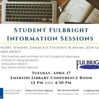 Fulbright Student Program Information Session