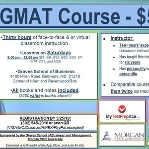 Graves School of Business GMAT Course