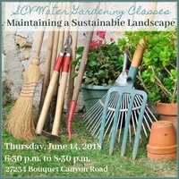 Gardening Class: Maintaining a Sustainable Landscape