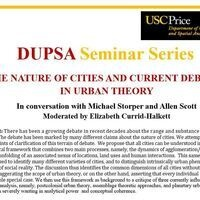 DUPSA Seminar featuring Michael Storper and Allen Scott