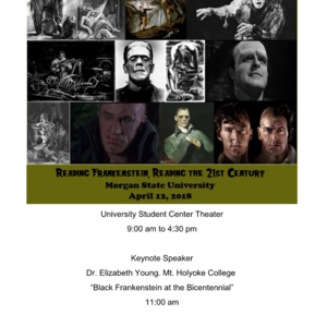 Reading Frankenstein, Reading the 21st Century Conference
