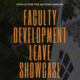 Second Annual Faculty Development Leave Showcase