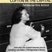 Clifton in the Capital: Tallahassee Civic Activist