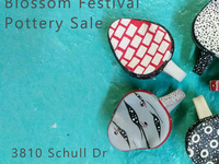 12th Annual Blossom Festival Pottery Sale