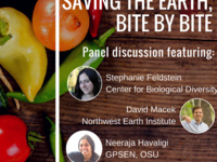 Saving the Earth, Bite by Bite: Earth Week Panel Discussion